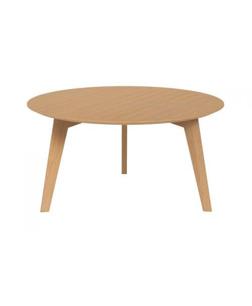 Konferenční stolek round 50 light oak Malcolm S.O.U.L.