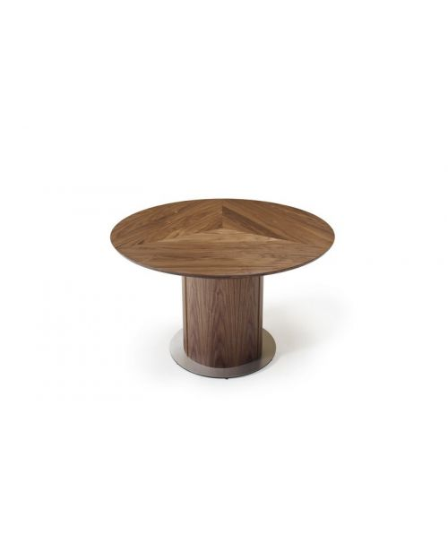 Kulatý rozkládací jídelní stůl