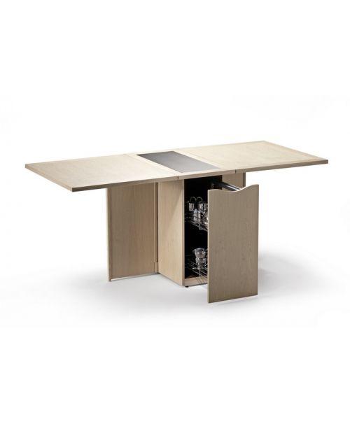 rozkládací multifunkční jídelní stůl