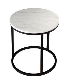 Mramorový odkládací stolek RGE