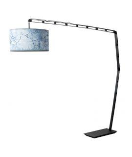 Stojací lampa se stmívačem City černá S.O.U.L.