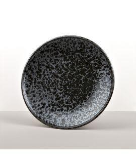 Kulatý talíř Black Pearl 25 cm