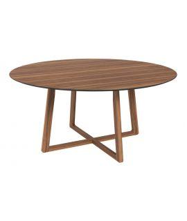 Jídelní stůl kulatý Matteo ořech 160 S.O.U.L.