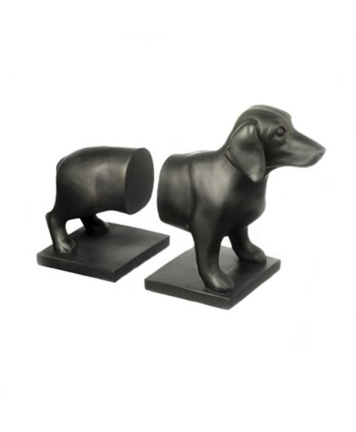 Bookend dog