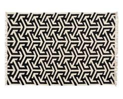 koberec Arrows black