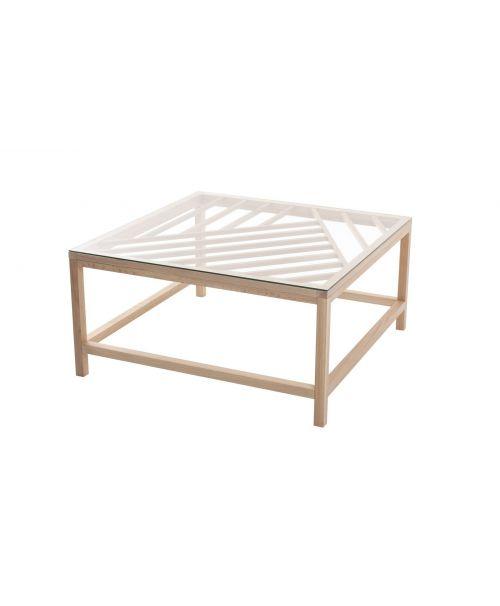 Konferenční stolek Overlay big white