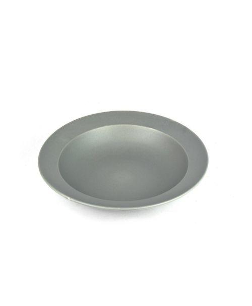 Hluboký talíř šedý