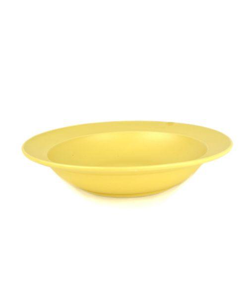 Hluboký talíř žlutý