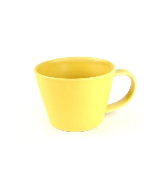 Hrnek na čaj žlutý
